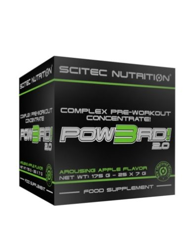 Pow3rd! 2.0 Complex Pre-Workout Concentrate