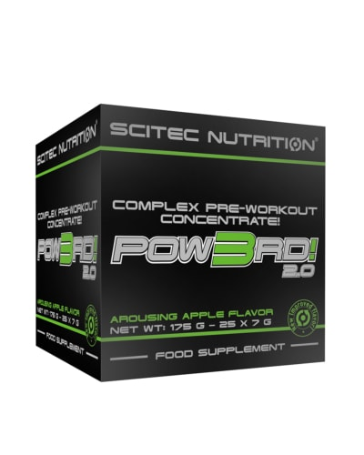 Pow3rd! 2.0 Complex Pre-Workout Concentrate