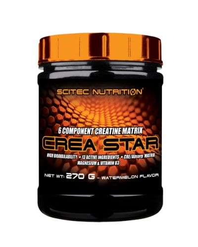 Crea Star New, 6 component creatine matrix with utilization boosters