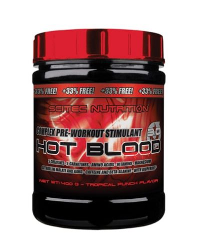 Hot Blood 3.0 Complex Pre-Workout Stimulant