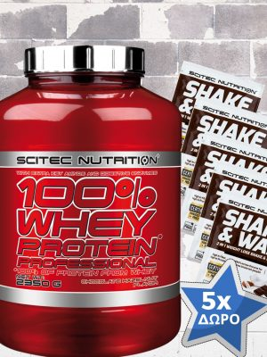 Πρωτεΐνη 100% Whey Protein Professional (2350gr) από την Scitec Nutrition