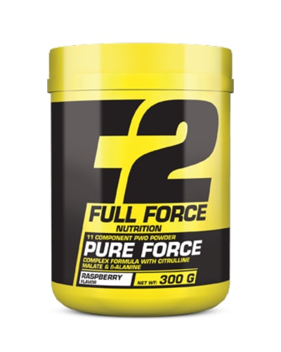 PURE FORCE 11 COMPONENT PWO POWDER COMPLEX FORMULA WITH CITRULLINE MALATE & ß-ALANINE