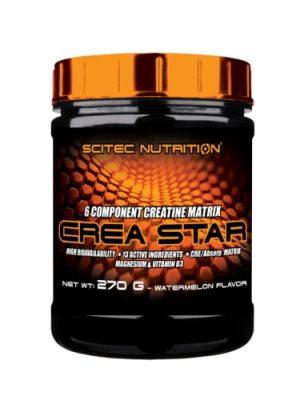 Crea Star New, 6 component creatine matrix with utilization boosters
