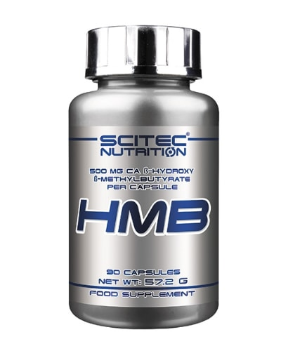 HMB 500 mg Ca β-hydroxy β-methylbutirate per capsule