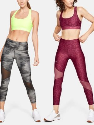 2152a97650ef UA - Women s Armour Fly Fast Raised Thread Crop 1326521 - Fitness ...